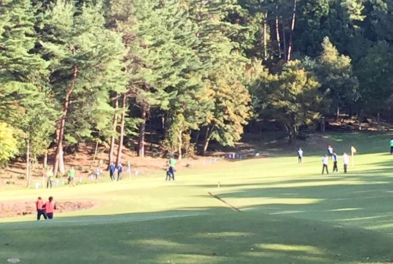 ターゲットバードゴルフコースラウンド風景