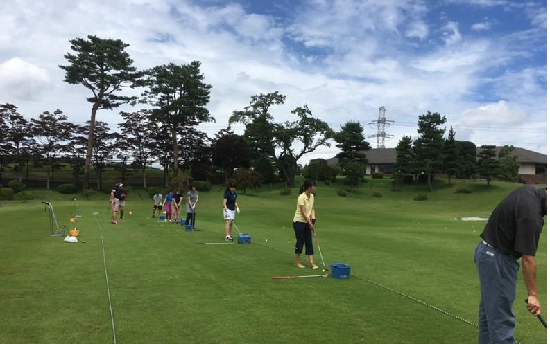 ゴルフ場体験「Gちゃれ」(於:八王子CC)